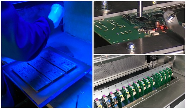SCH use a range of conformal coating application methods used in our coating services