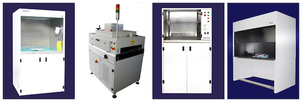 Conformal coating equipment range from SCH Technologies