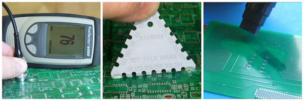 SCH provide tools for conformal coating process control