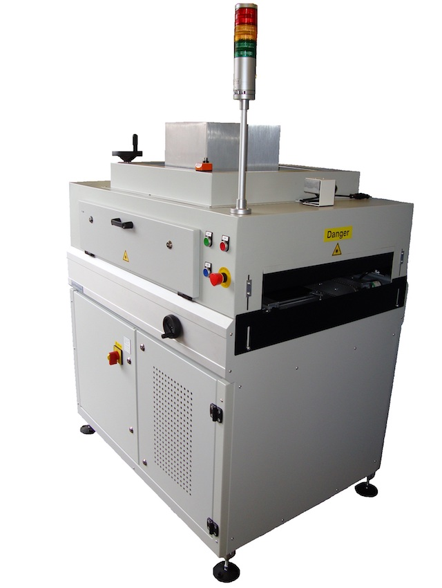 UV 200 cure conveyor from SCH Technologies for curing conformal coatings