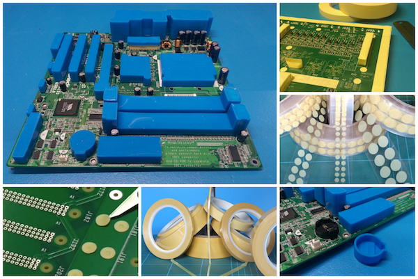 A range of conformal coating masking materials from SCH Technologies.