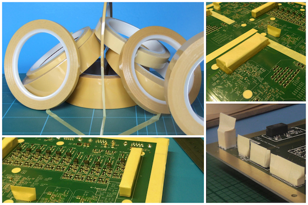 A range of conformal coating masking tapes from SCH Technologies