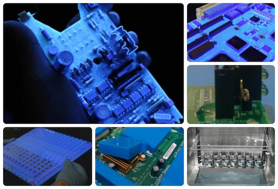 Complete conformal coating solutions including coating services, equipment, materials, training and consultancy