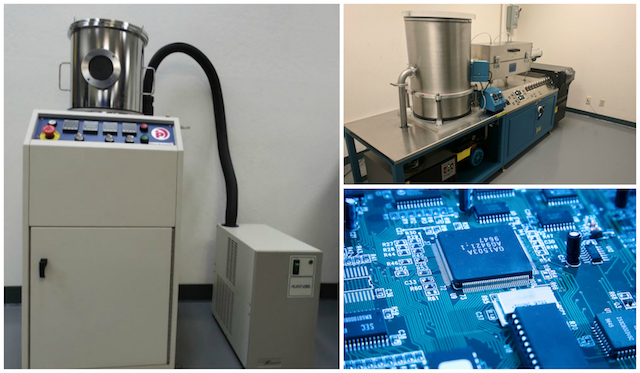 Range of Parylene coating systems from SCH Technologies including lab scale and full production systems