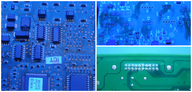 Using the target coating thicknesses as an absolute value across the circuit board can be problematic. The reality is that the thickness will vary across the circuit board due to many factors including the surface tension of the liquid, the surface energy of the board surface, the design of the board, the material properties and the application method used.