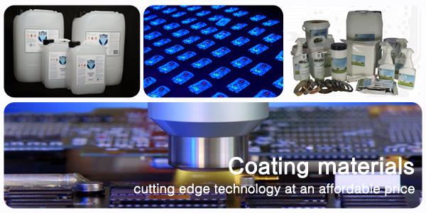 SCH Technologies provide coating materials including conformal coatings, fluorpolymer Nano-coatings, Parylene dimer and cleaning fluids.