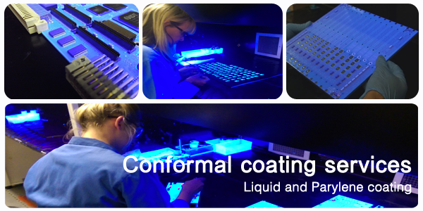 SCH Technologies provides subcontract coating services across North America, Europe and Asia many types of thin film coatings including conformal coatings, fluoropolymer coatings, Nano-coatings, RFI shielding materials and Parylene.